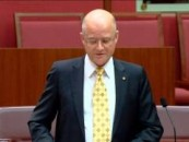 Senator Leyonhjelm on 18C and freedom of speech