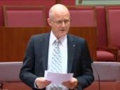 Senator Leyonhjelm's speech on Australia's new online copyright regime