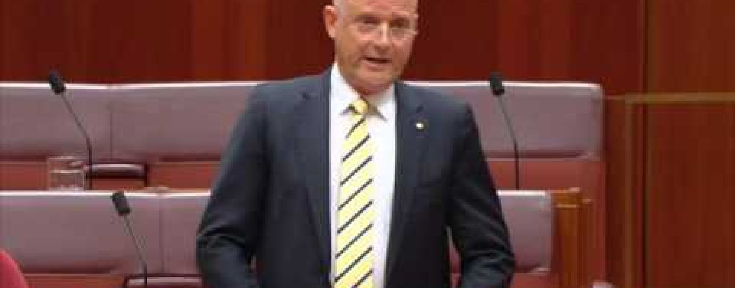 Leyonhjelm on political donations