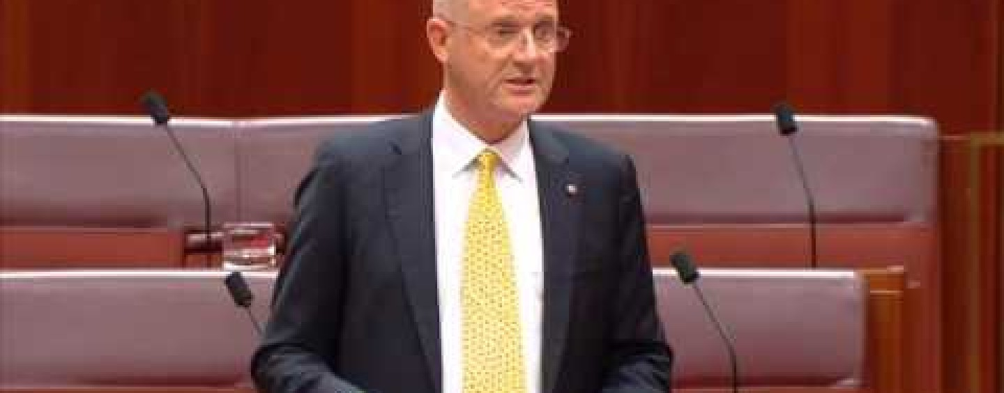 Leyonhjelm on the Omnibus Savings Bill