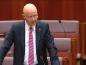 Liberal Democrat Senator David Leyonhjelm asks the Government an embarrassing question about betraying their voter base.