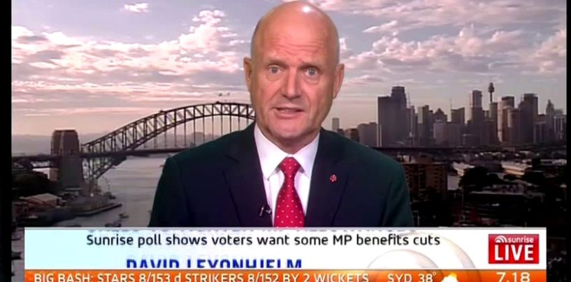 David Leyonhjelm and Pauline Hanson discuss entitlements on childcare on Sunrise