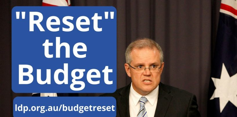 """Time to """"Reset the Budget"""""""