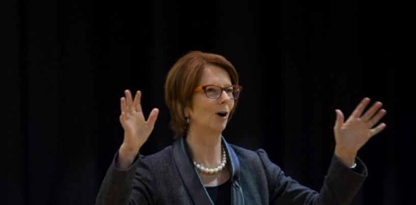 Julia Gillard knifed the budget as well