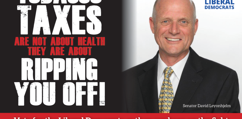 Leyonhjelm reveals the truth about tobacco costings