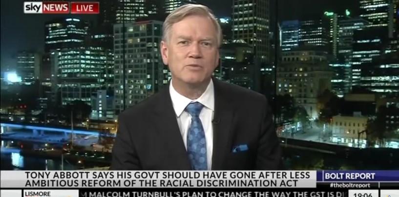 Andrew Bolt speaks to Senator Leyonhjelm about free speech