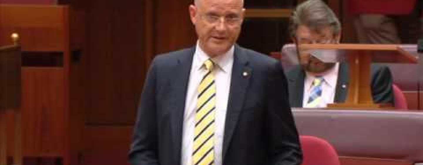 Leyonhjelm the lone voice opposing tobacco hikes