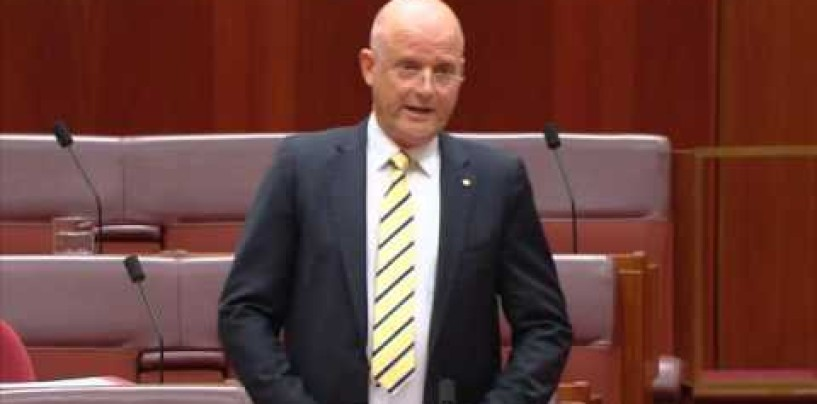 Leyonhjelm on political donations