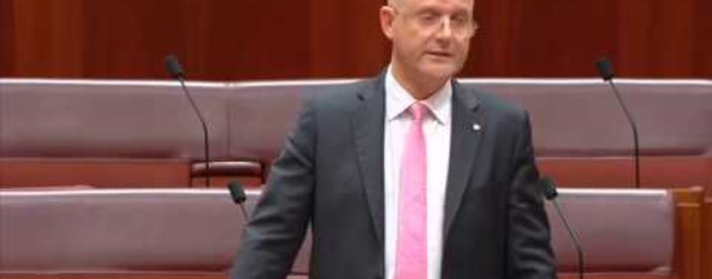 Senator Leyonhjelm opposes the counter terrorism legislation amendment bill
