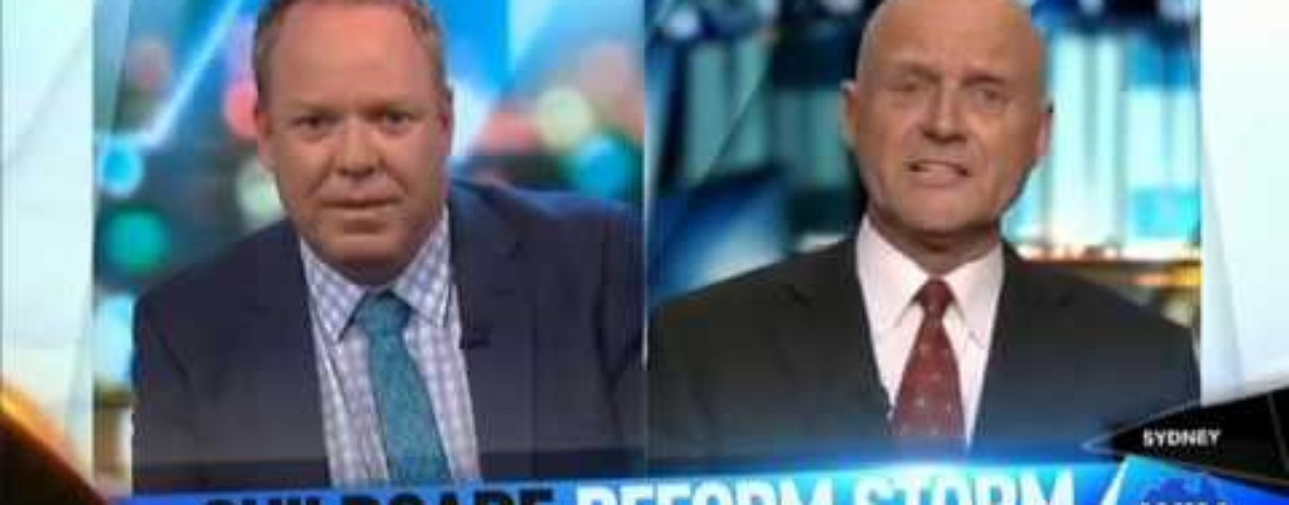 David Leyonhjelm attacks Red Tape in Childcare on The Project