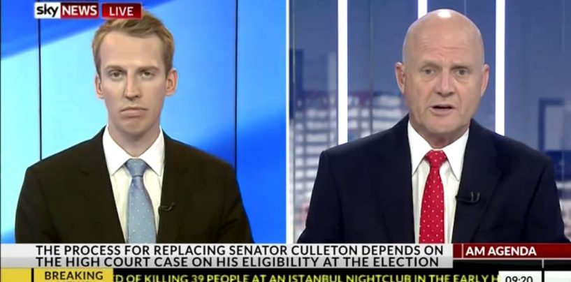 David Leyonhjelm tells precious snowflakes to 'suck it up' on AM Agenda