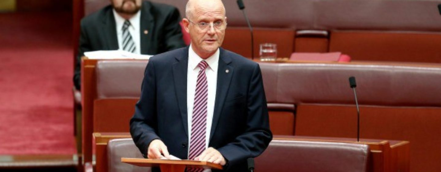 Leyonhjelm: Start the budget from scratch