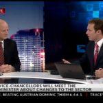 David Leyonhjelm talks tertiary education on Sky News