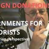 ABC Radio Brisbane: Foreign Donations & Internments for Terrorists